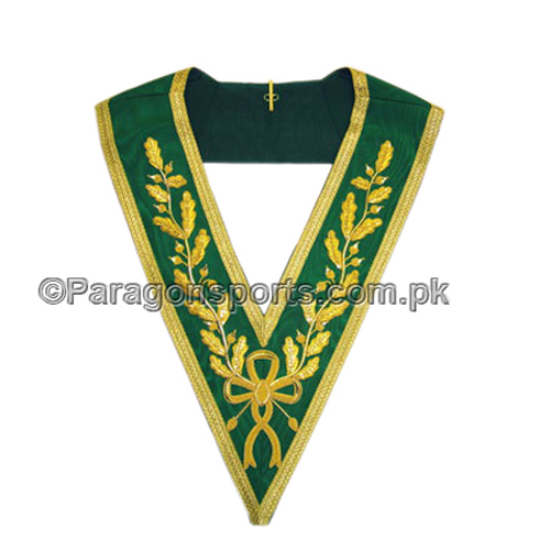 Allied Masonic Degrees full Dress handmade Embroidered Collar