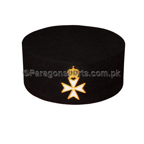 Knights Of Malta Black Cap