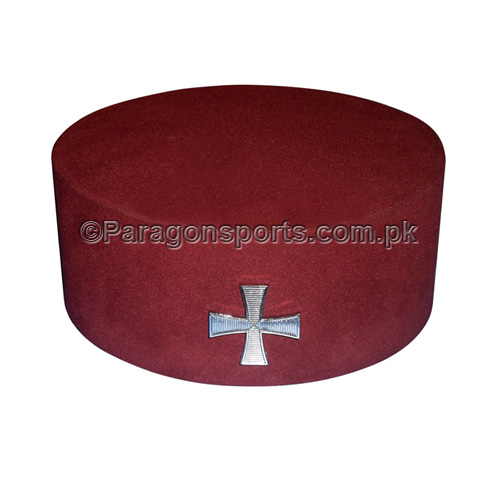 Knights Templar- Cap With Knights Badge