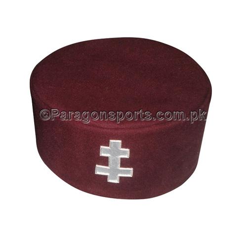 Knights Templar Cap- with Preceptors Badge