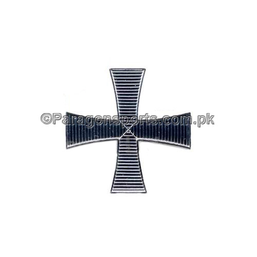 Knights Templar KT Cap Knights Badge Silver Plated