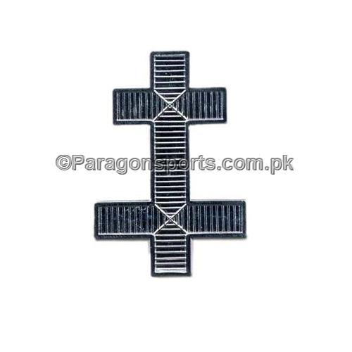 Knights Templar KT Cap Preceptors Badge Silver Plated