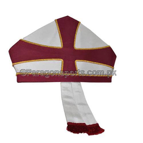 Masonic Regalia H.R.A Knights Templar Priests Mitres